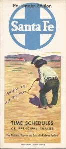ATSF Spring 1958 - Cover