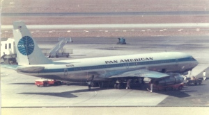 Pan American World Airways Boeing 707-321 - Clipper Stargazer - at Los Angeles International Airport sometime in 1969
