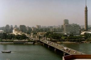 Cairo - View from Semiramis