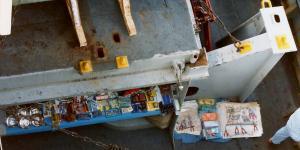 Suez-boatmen goods