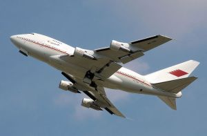 747SP Bahrain Royal Flight