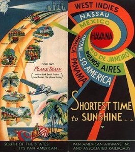 Timetable cover circa early 1930s.