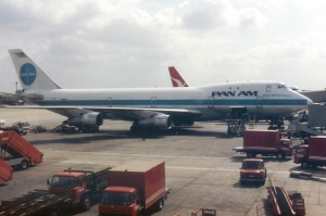 Clipper Pride of the Ocean at London Heathrow