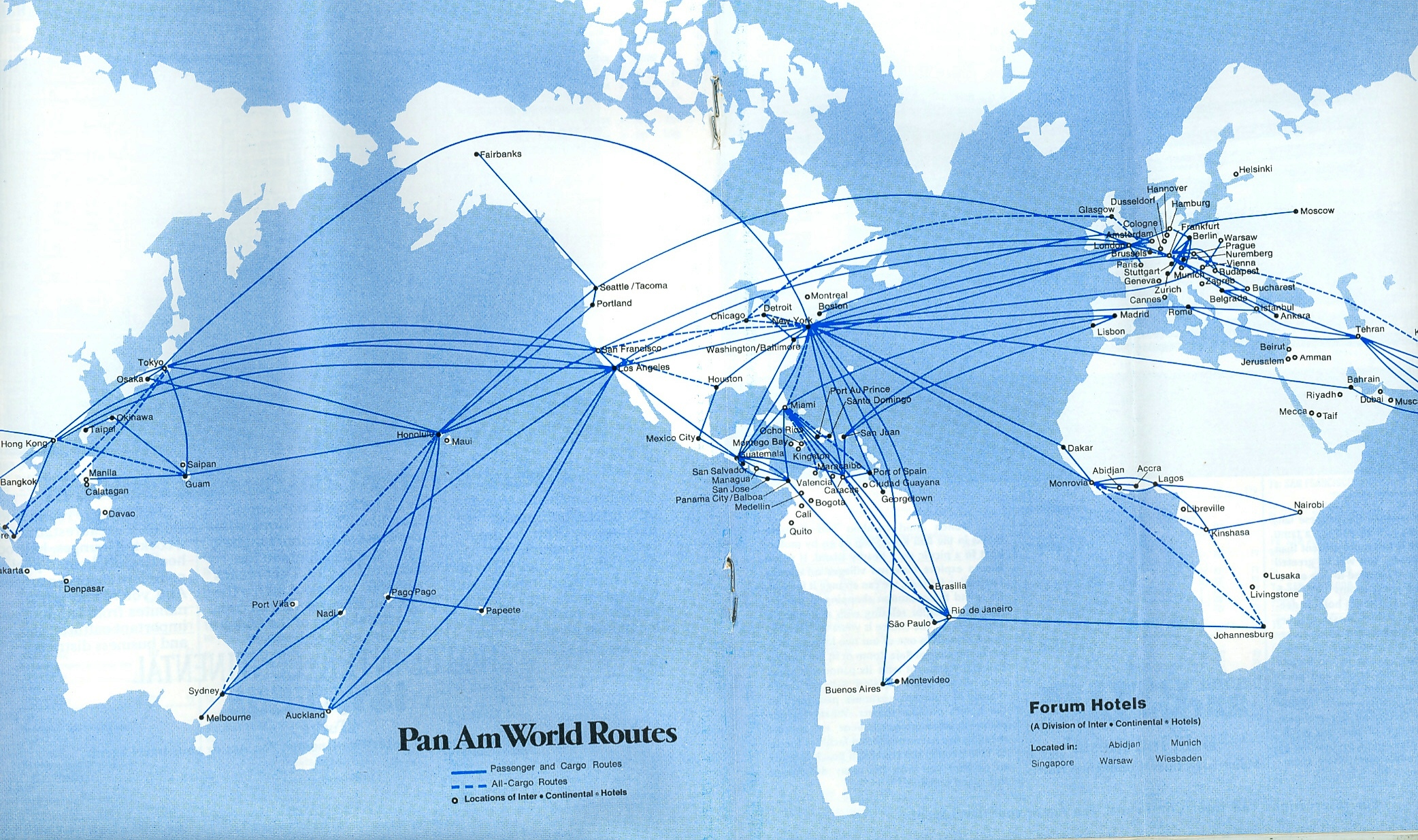 The Pan Am Series  Part VI Latin America And Flight  JPB - Us airways travel map