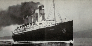 RMS Mauretania, a Cunard ship that Juan Trippe might have traveled on to Europe