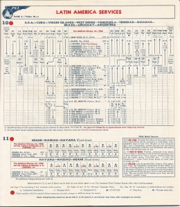 PA timetable 1948 East Coast Latin American