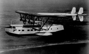"Sikorsky S-40 - ""Southern Clipper"" - the first Clipper Ship"