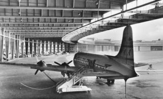 DC-4 at Berlin