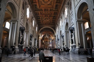 Interior, Basilica of St. John, Lateran (rome.com)