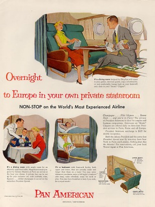 1954 overnite europe private stateroom b377 everythingpanam