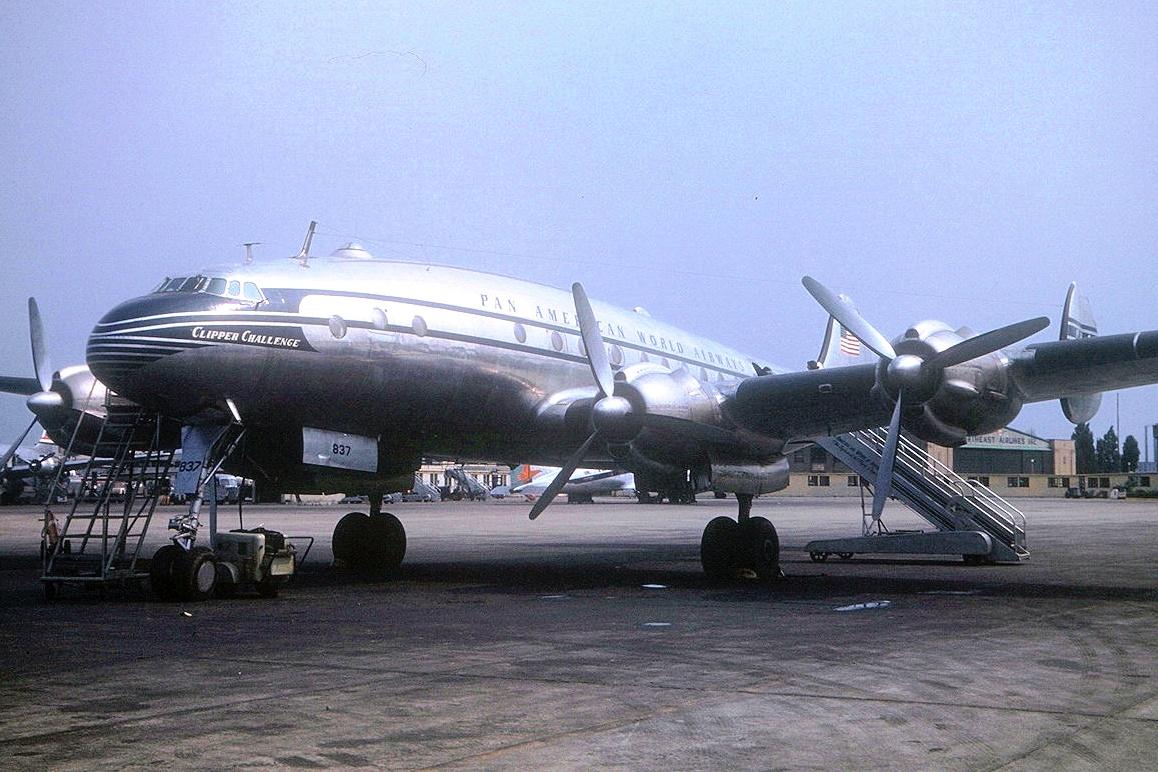 Lockheed 049 Constellation - Clipper Challenge - at New York (Connie Heggblom)