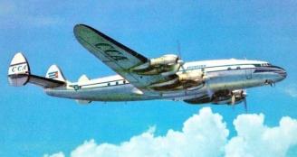 Cubana Lockheed Constellation