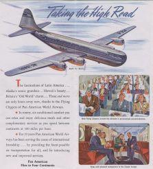 1946 Artist rendition of future B377 Stratocruiser everythingpanam