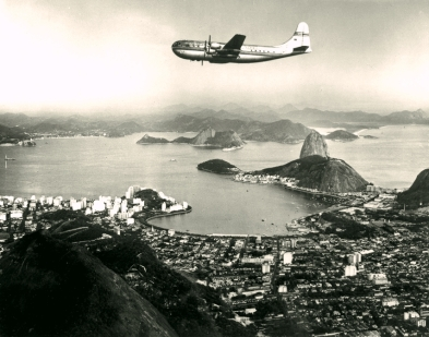 Stratocruiser over Rio de Janeiro
