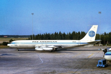 Clipper Defiance - the aircraft that operated flight 101 on 7 February 1964 (photo by Lars Söderström).