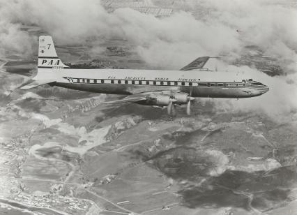 Douglas DC-7C Clipper Bald Eagle