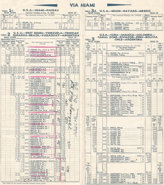 1939 Sept Timetable
