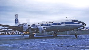 DC-7C at IDL Allan Van Wickler