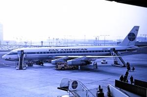 DC-8 at LAX Bob Proctor