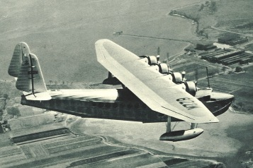 The first S-42 delivered: NC 822M Brazilian Clipper