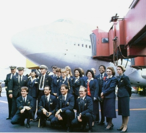 747 Clipper Moscow Express arr Moscow crew