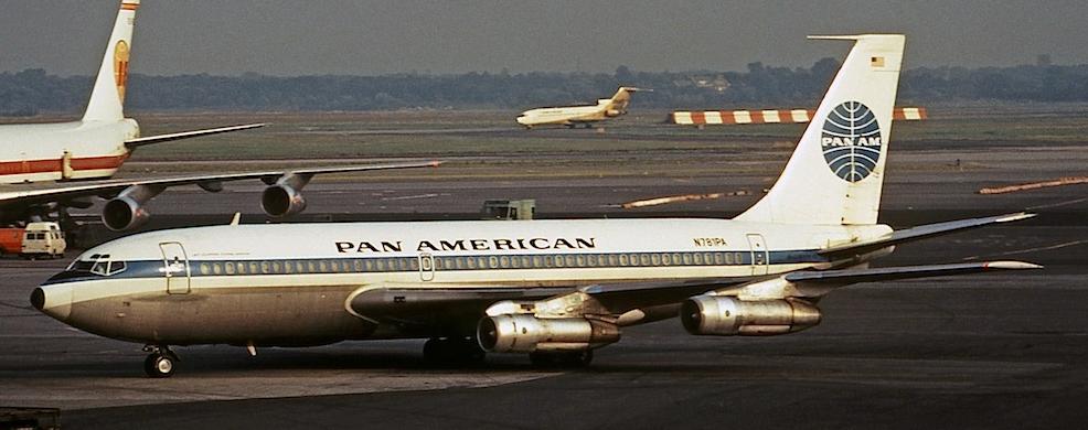 Boeing 720B, Clipper Flying Arrow (Jon Proctor)