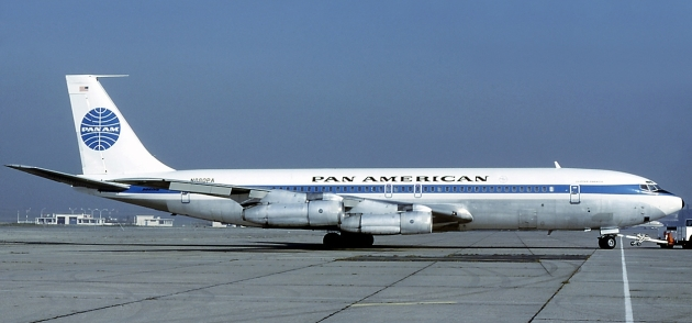 Boeing 707-321, Clipper (Michel Gilliand)