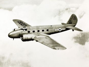 United Airlines' Boeing 247 (SDASM Archives)
