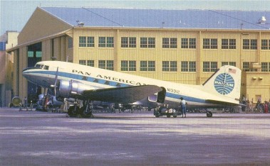 "DC-3 in ""Blue Ball"" Livery"