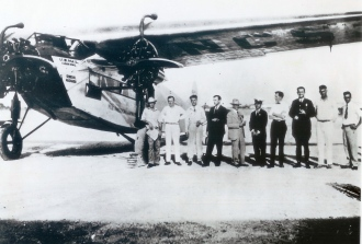 FOKKER F7-staff