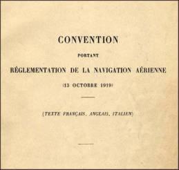 Paris Convention-1 ICAO