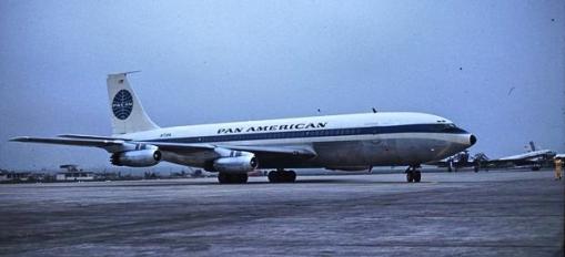 707 inaugural flight Orly