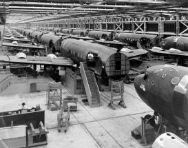 C-54 assembly line at Douglas factory now ORD 1943