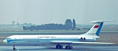 IL62 JAP Aeroflot Malcolm Nason