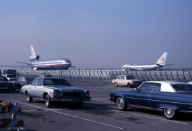 747 and DC-10 at LAX 1976 LostPineJim