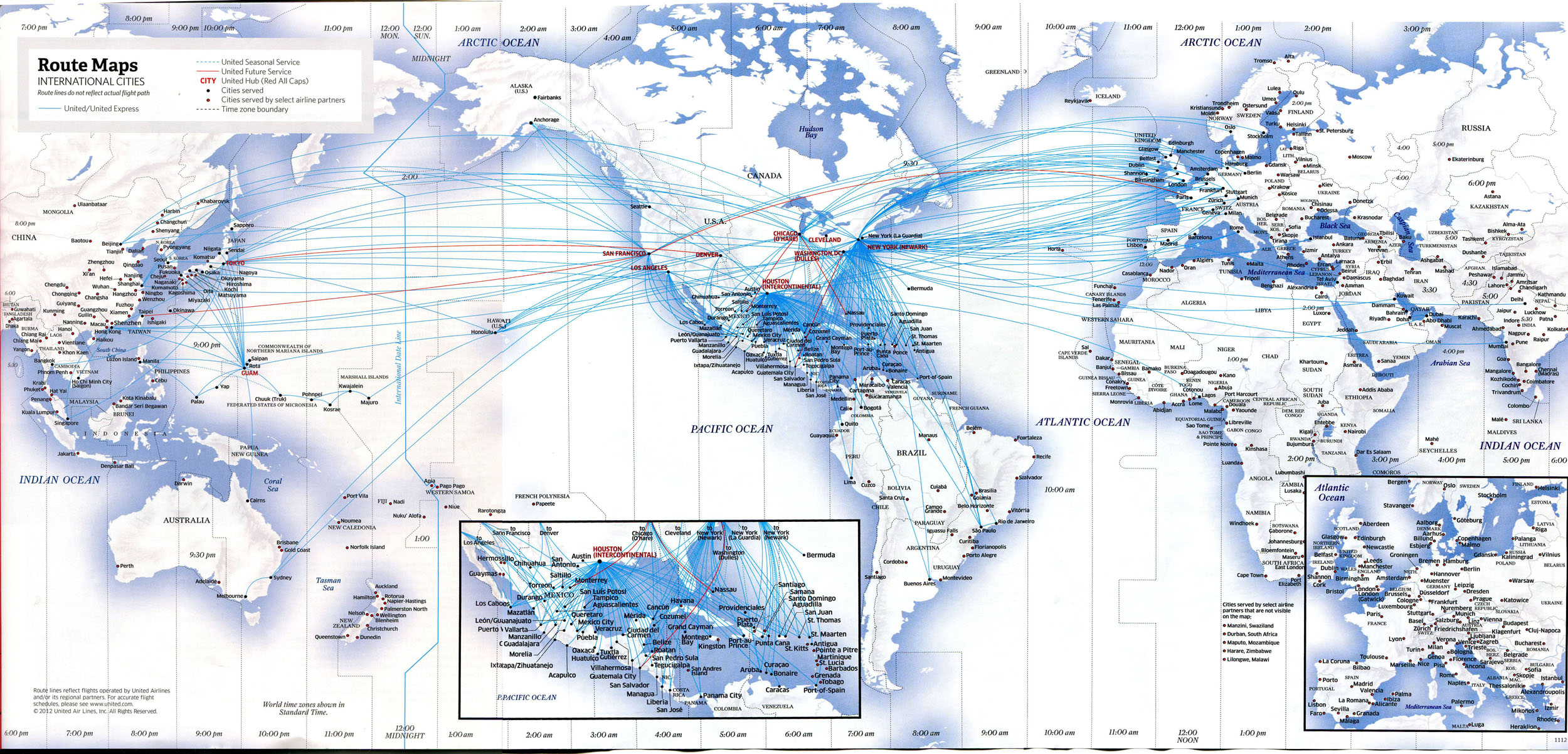 Aviation Regulation History And Practice Part JPB - Us airways europe route map